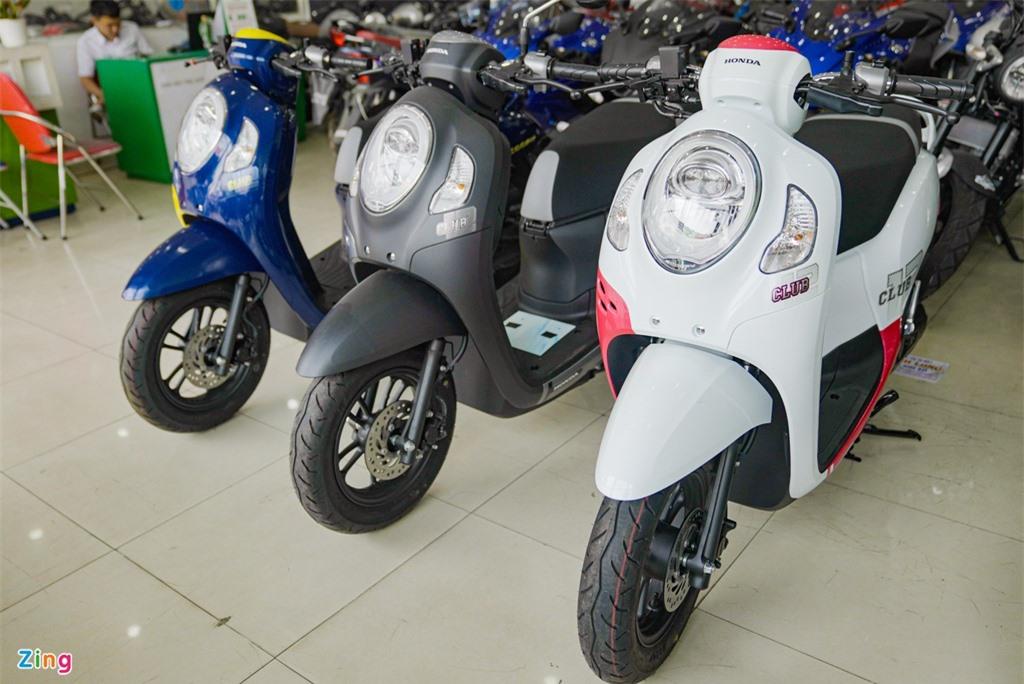 Honda Scoopy 2021 nhap khau Thai Lan gia 74 trieu dong anh 2