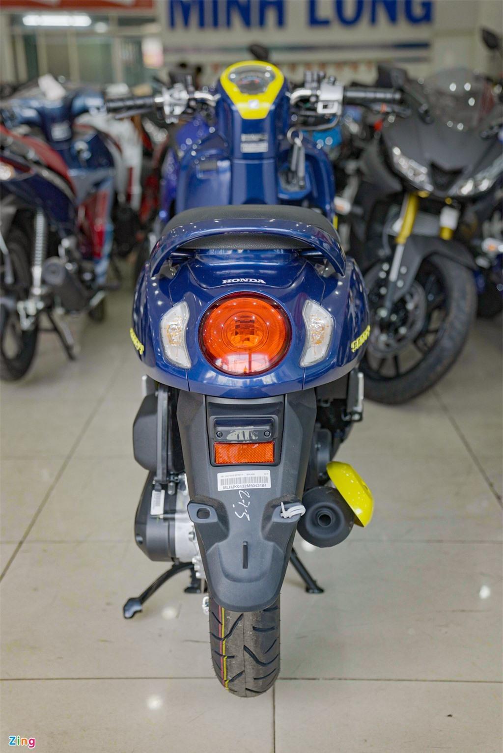 Honda Scoopy 2021 nhap khau Thai Lan gia 74 trieu dong anh 4