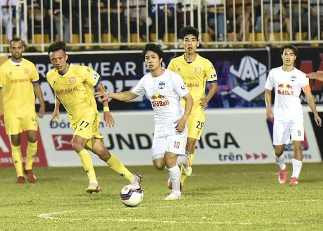 Nam Định, Hoàng Anh Gia Lai và cơn mưa bàn thắng