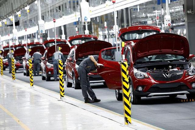 Xưởng sản xuất ô tô của VinFast tại Hải Phòng - Ảnh: Reuters.
