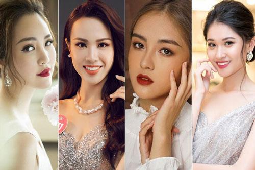 Những Hoa khôi đình đám của Đại học Ngoại thương từng dự thi Hoa hậu Việt Nam