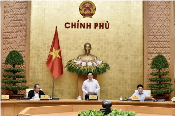 Thủ tướng Phạm Minh Chính chủ trì phiên họp Chính phủ đầu tiên vào sáng 15/4/2021.