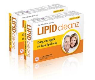 Thực phẩm bảo vệ sức khỏe Lipidcleanz.