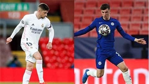 Chelsea bất bại khi đối đầu Real