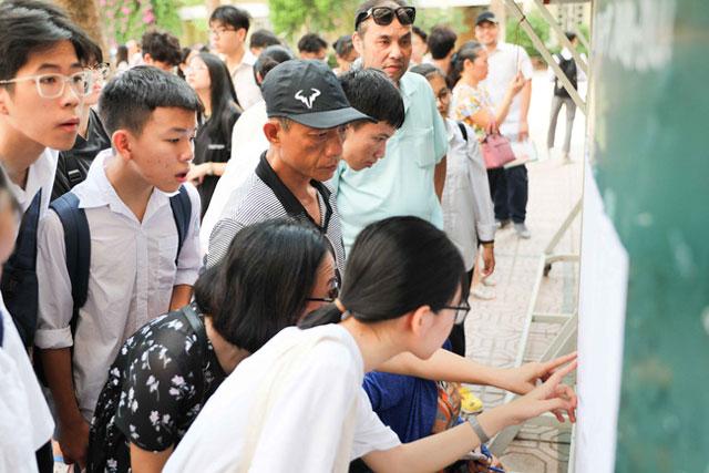 38% học sinh lớp 10 THPT ở Hà Nội sẽ học trường ngoài công lập năm 2021