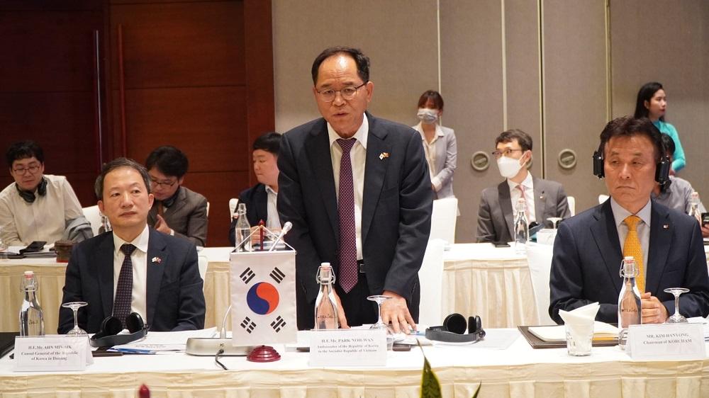 Ông Park Noh Wan, Đại sứ Hàn Quốc tại Việt Nam kỳ vọng về cơ hội hợp tác với Thừa Thiên Huế.