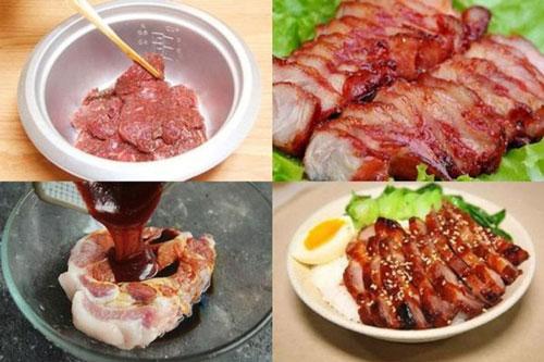 Làm thịt lợn nướng bằng nồi cơm điện, tưởng không ngon nhưng ngon không tưởng