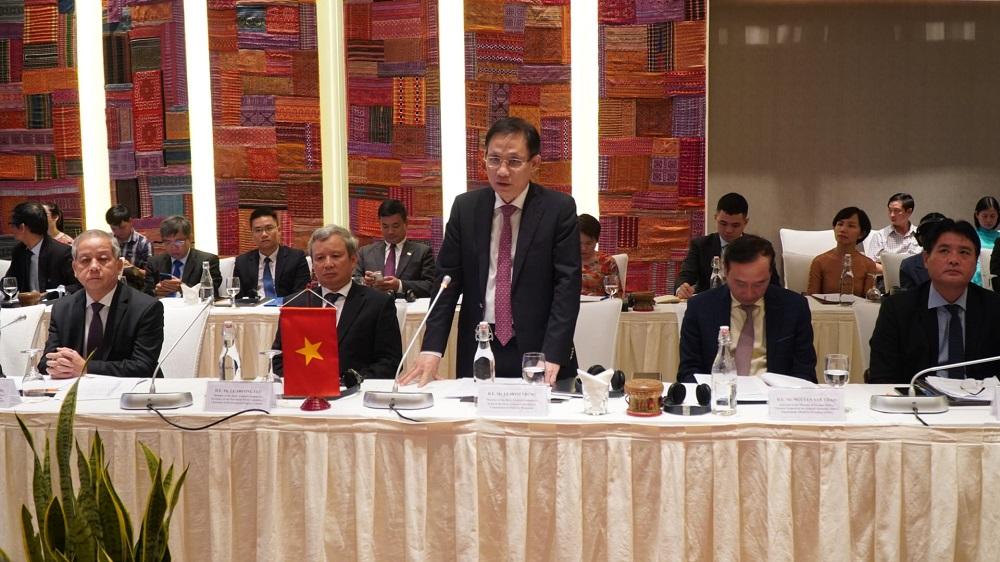 Trưởng ban Đối ngoại Trung ương Lê Hoài Trung mong muốn các doanh nghiệp Hàn Quốc sẽ đến Thừa Thiên Huế nhiều hơn.