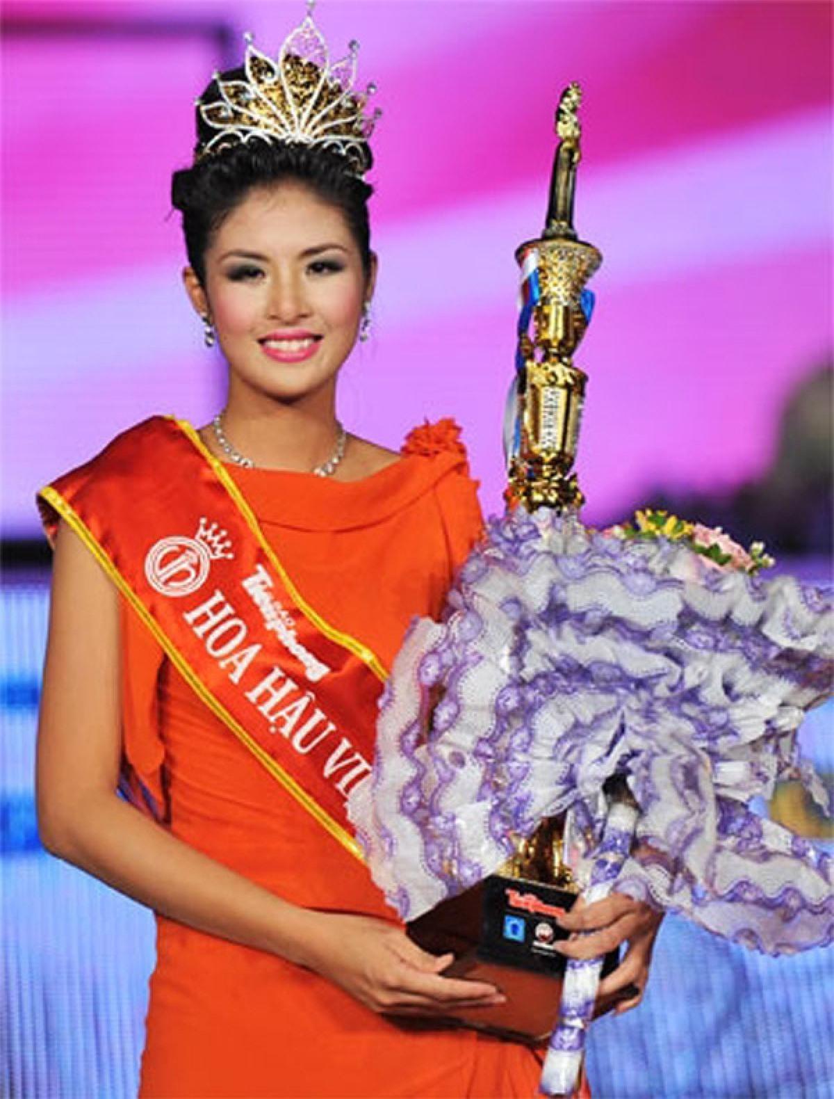 6 người đẹp ở Hà Nội từng đăng quang Hoa hậu Việt Nam ảnh 13