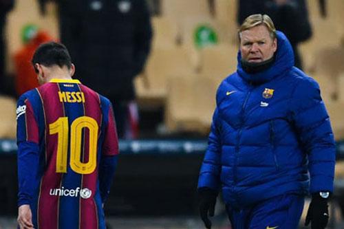 Koeman hãy dè chừng, vấn đề của Barca không phải là VAR