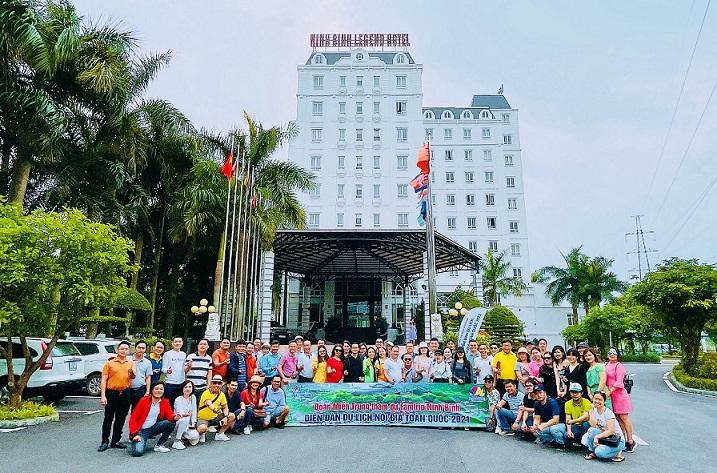Đoàn Miền Trung về tham dự Diễn đàn- với niềm tin du lịch nội địa sẽ hồi phục nhanh chóng