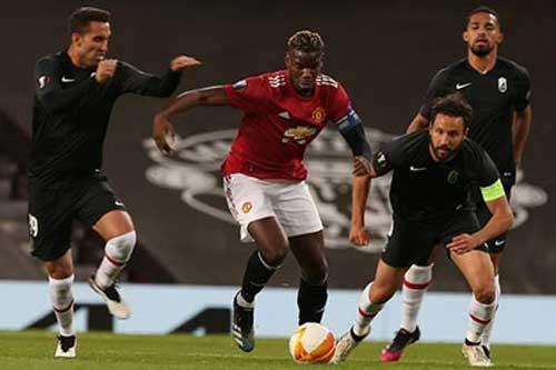Pogba: 'Cầu thủ Granada âm mưu khiến tôi nhận thẻ đỏ'