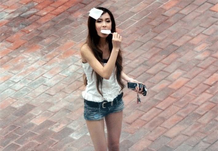 Netizen không nhận ra Angelababy của năm 18 tuổi.
