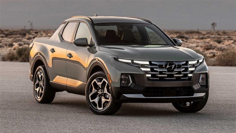 Ban tai Hyundai Santa Cruz 2022 chinh thuc ra mat anh 1