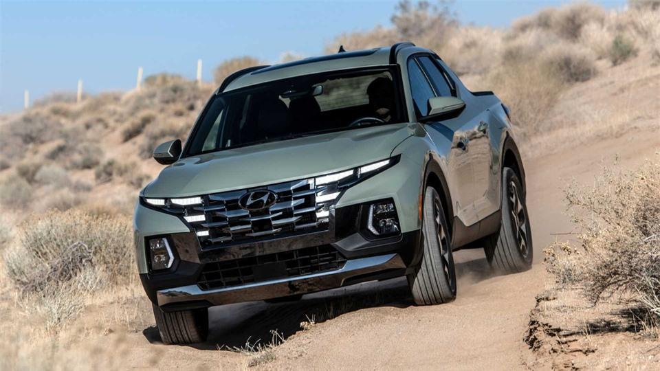 Ban tai Hyundai Santa Cruz 2022 chinh thuc ra mat anh 2