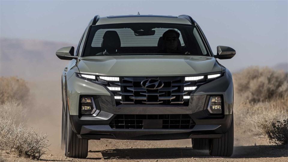 Ban tai Hyundai Santa Cruz 2022 chinh thuc ra mat anh 6