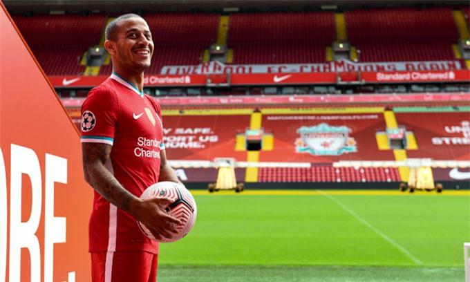 Thiago nhận được rất nhiều kỳ vọng khi gia nhập Liverpool