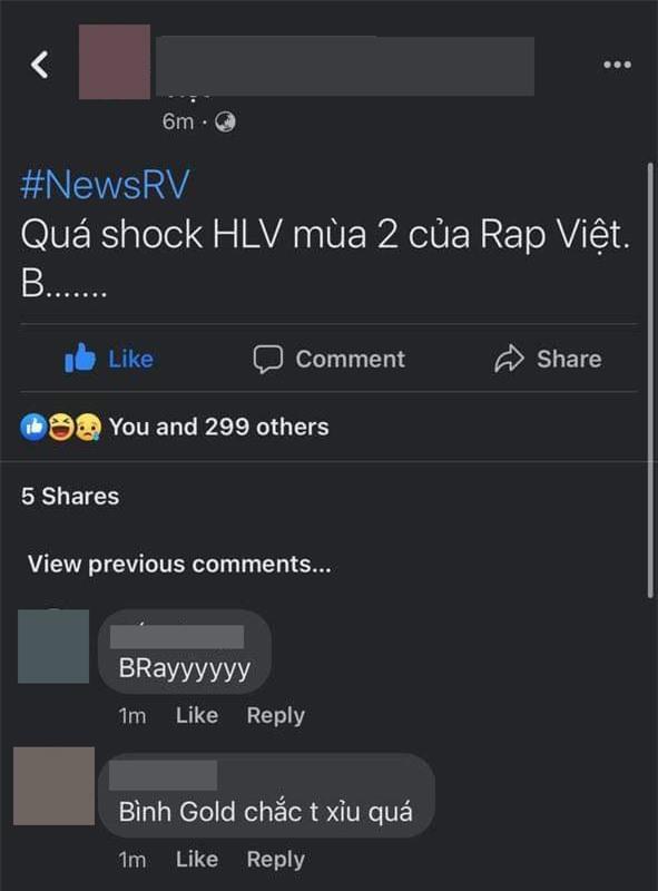 Rộ tin B Ray hoặc Bình Gold sẽ trở thành HLV thay thế Suboi tại Rap Việt mùa 2? - Ảnh 1.