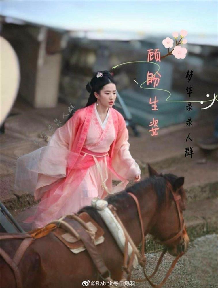 Tạo hình đẹp kinh diễm của Địch Lệ Nhiệt Ba và Lưu Diệc Phi trong phim cổ trang mới ảnh 10