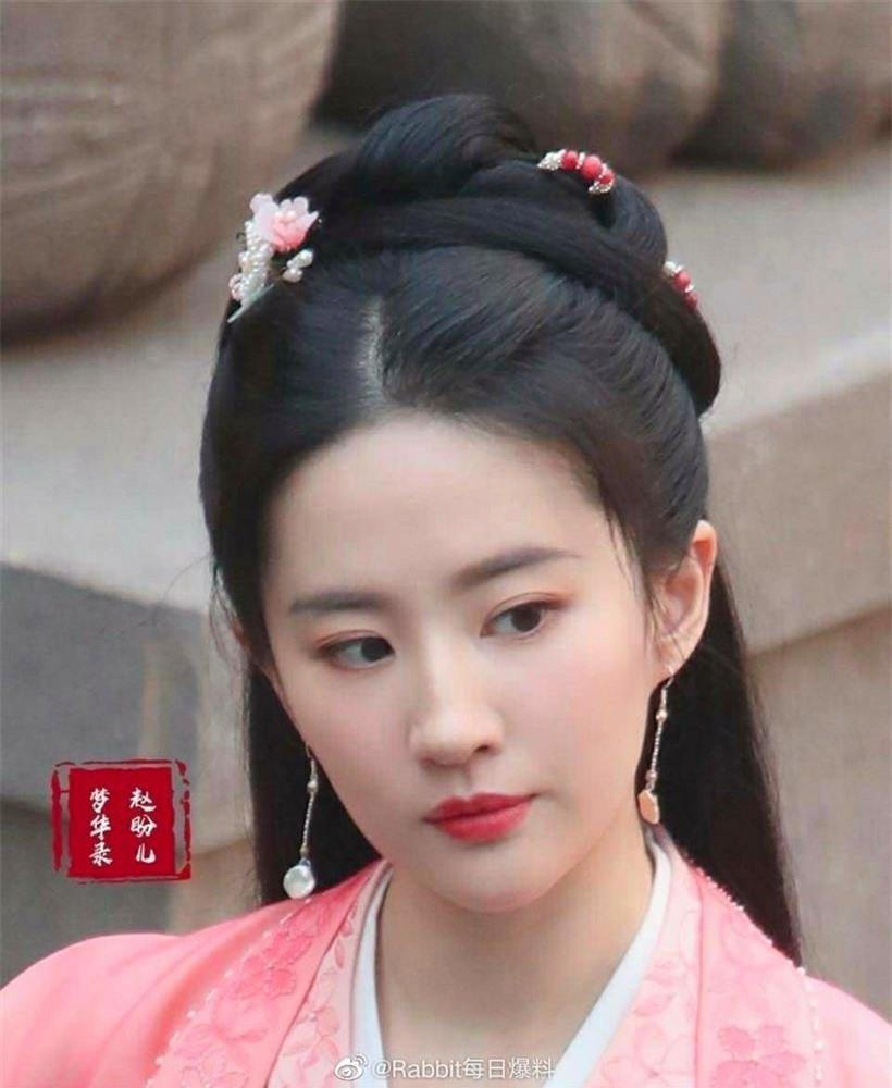 Tạo hình đẹp kinh diễm của Địch Lệ Nhiệt Ba và Lưu Diệc Phi trong phim cổ trang mới ảnh 8