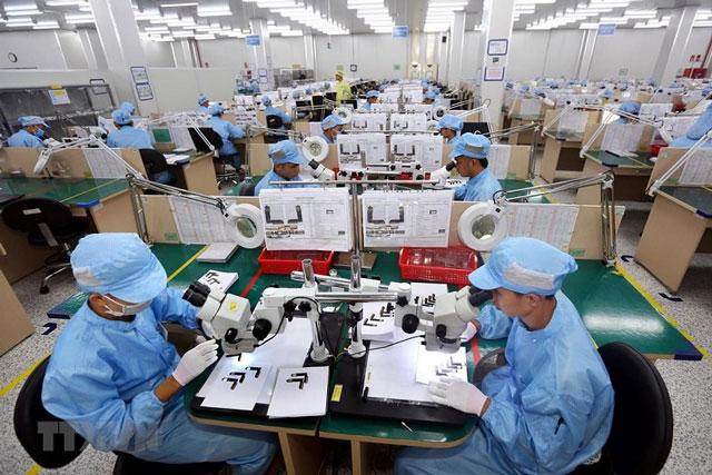 Doanh nghiệp FDI đang nắm gọn 95% kim ngạch xuất khẩu điện thoại, linh kiện, máy vi tính...