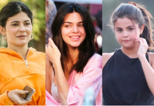 'Bóc trần' mặt mộc của dàn mỹ nhân Hollywood: Chị em Kendall - Kylie gây sốc, Selena và Hailey so kè khốc liệt visual thật