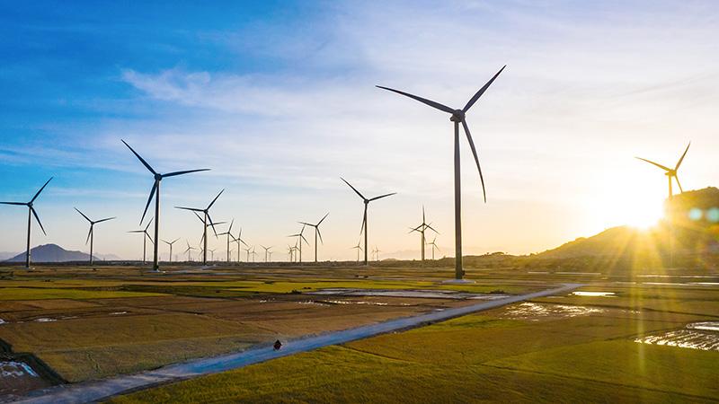 Nhà máy Điện gió Trung Nam có tổng vốn đầu tư khoảng 4.000 tỷ đồng.