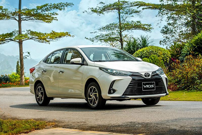 5. Toyota Vios (doanh số: 3.870 chiếc).