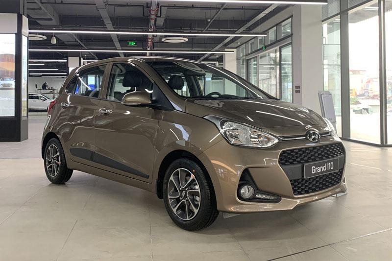 8. Hyundai Grand i10 (doanh số: 3.199 chiếc).