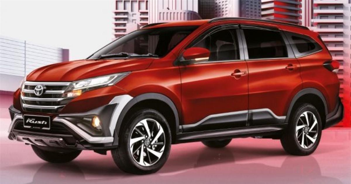 Màu đỏ Red Metallic mới trên Toyota Rush