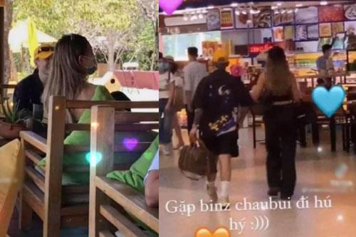 Binz và Châu Bùi cuối cùng cũng bị bắt trọn khoảnh khắc hẹn hò: Tình tứ hết mức, nhìn biểu cảm là biết hạnh phúc cỡ nào