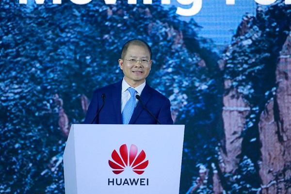 Ông Eric Xu, Chủ tịch luân phiên của Huawei.