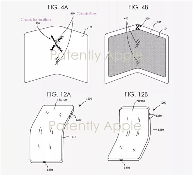 Smartphone man hinh gap cua Apple anh 2