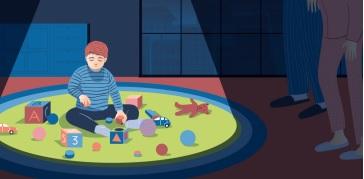 Trẻ tự kỷ có những sở thích bất thường