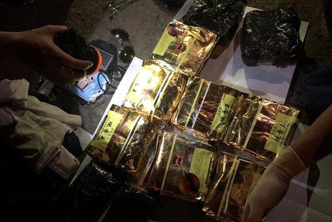 Tang vật 9kg ma túy đá và 2kg ma túy ketamine (Nguồn: QĐND)