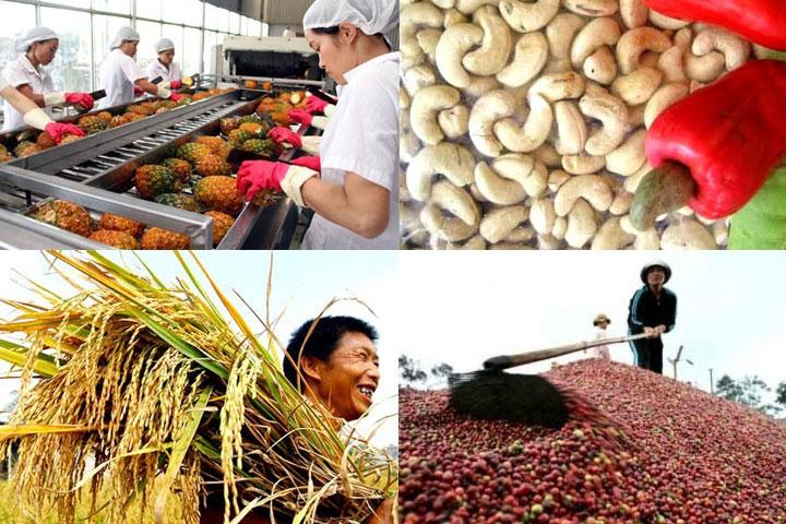 Xuất khẩu nhóm nông, lâm, thuỷ sản tăng mạnh trong quý I/2021