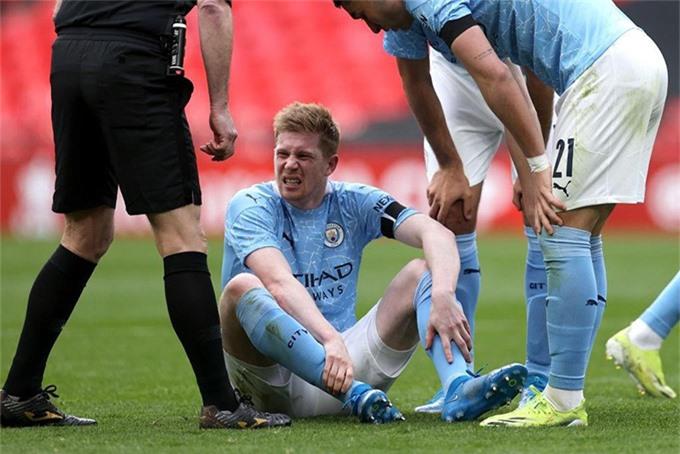 City mất De Bruyne không nặng bằng Tottenham mất Kane