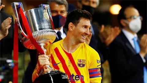 Messi lập một loạt kỷ lục, Barca vô địch cúp Nhà Vua 2020/21