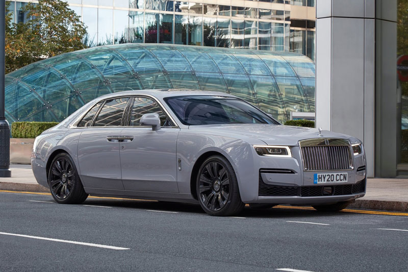 Rolls-Royce Ghost 2021.