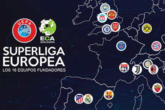 Super League sẽ tập hợp các đội bóng lớn nhất châu Âu.
