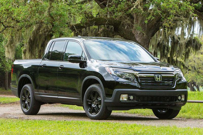 9. Honda Ridgeline Black Edition 2021 (giá khởi điểm: 43.920 USD).