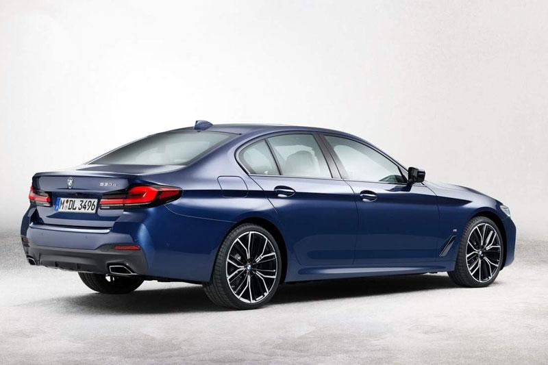 BMW 5 Series 2021.