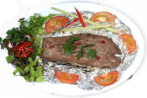 Thịt bò nướng giấy bạc thơm ngon cực phẩm