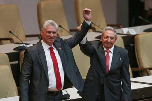 Chủ tịch Cuba Canel được bầu giữ chức Bí thư thứ nhất Ban chấp hành Trung ương Đảng thay ông Raul Castro