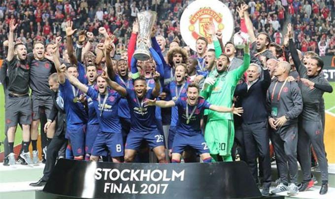Mourinho đưa MU giành Europa League