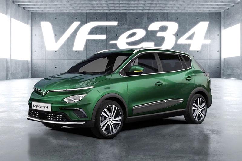 Những điểm nhấn công nghệ đáng chú ý trên xe điện VinFast VF e34