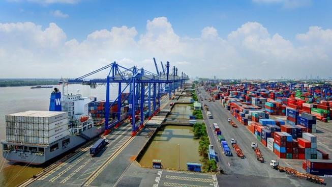 Cảng Cát Lái - nơi sẽ thu phí hạ tầng cảng biển đầu tiên ở TP.HCM.