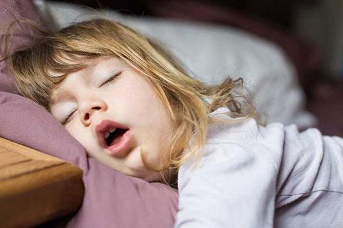 Khắc phục tình trạng ngủ ngáy ở trẻ?