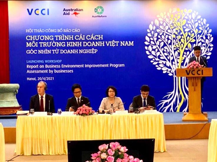 Thúc đẩy cải thiện môi trường đầu tư kinh doanh, phát triển doanh nghiệp