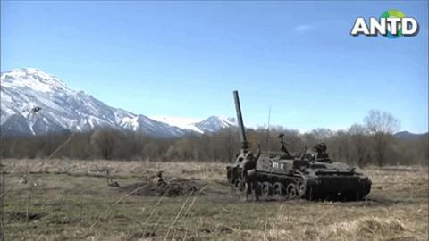 [Info] Cối tự hành bắn đạn hạt nhân, quốc bảo Liên Xô mà Nga sở hữu ảnh 1